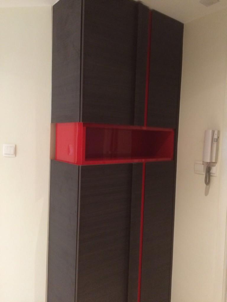 Modern Cabinet - River Place Condo