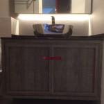 Modern Cabinet – River Place Condo