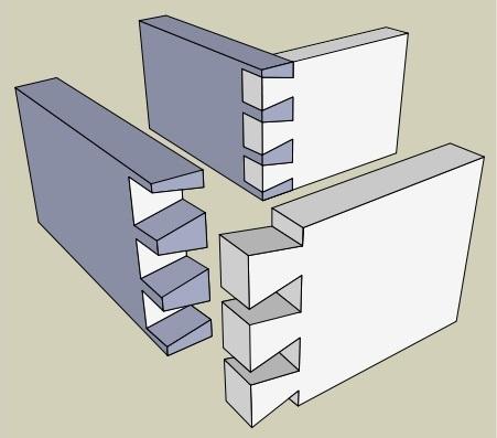 carpenter workshop in singapore - dove tail drawer 1