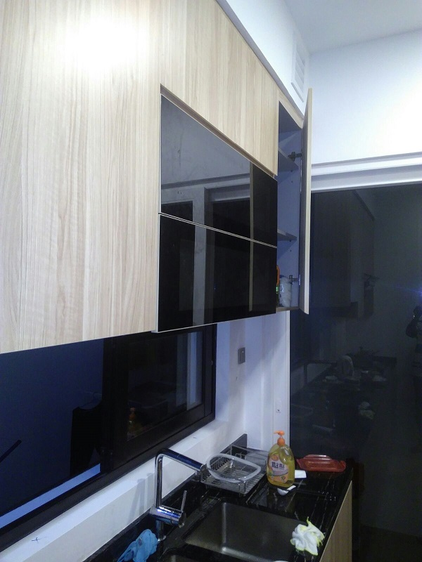 Branksome Road Project – Wooded Kitchen Cabinet