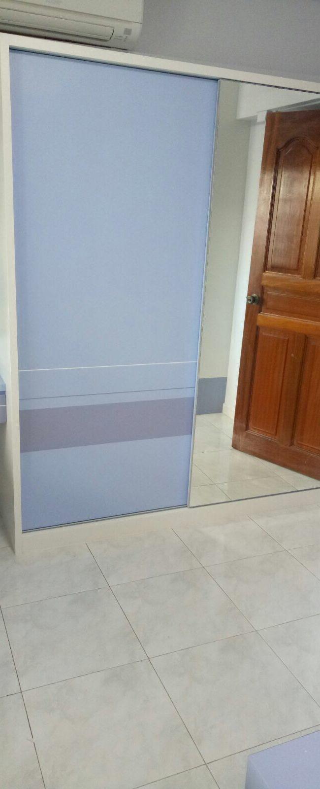 Jurong East Project – Combination of Wardrobe & Door