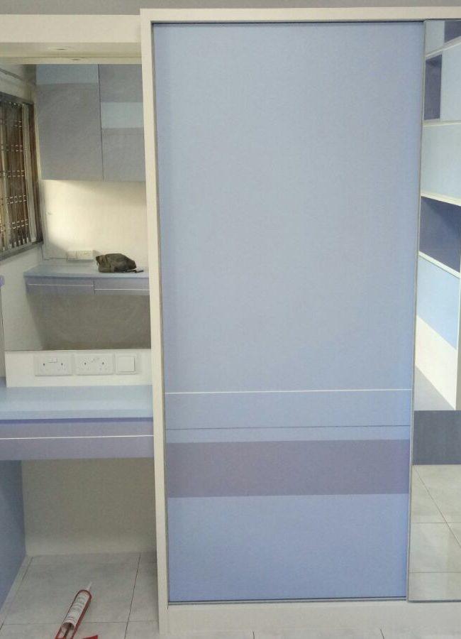 Jurong East Project – Room Entrance Interior Design