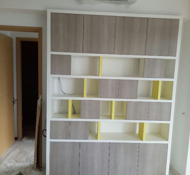 Skywood Condo kitchen cabinet