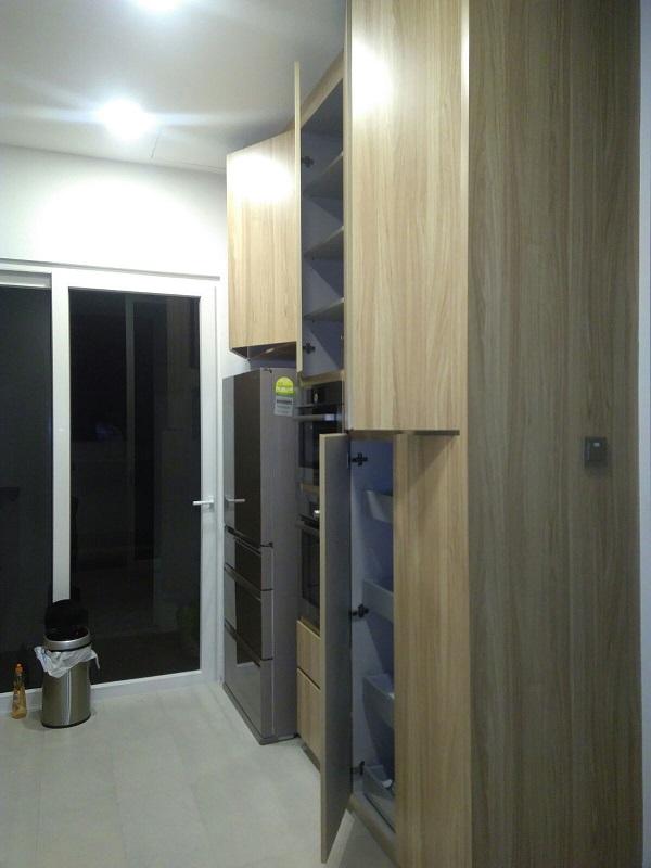 Branksome Road Project – Custom Kitchen Cabinet