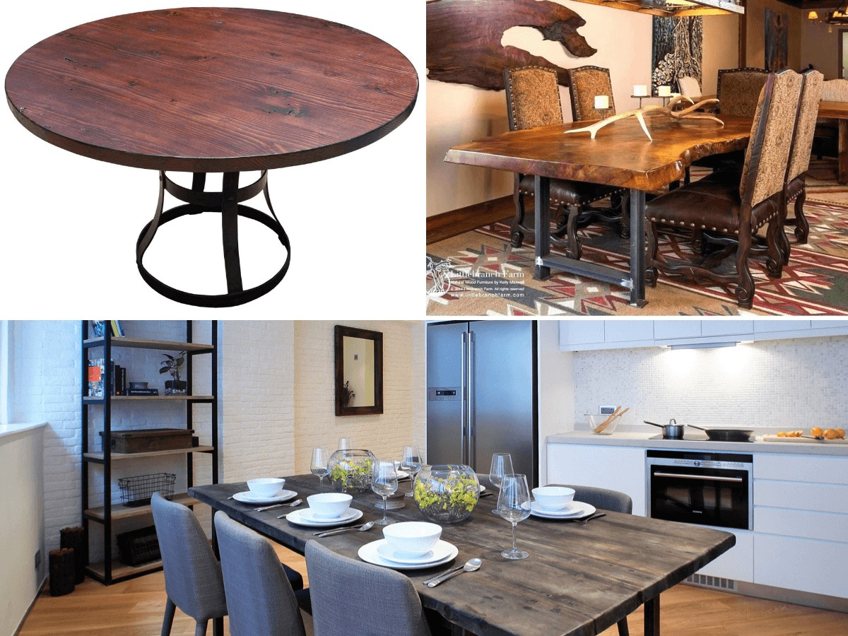 Goldpines Custom Carpentry Singapore Affordable Cheap Reclaimed Wooden Dining Table With Chairs Goldpines